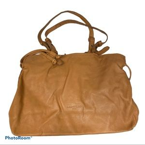 Liebeskind Berlin large soft leather brown tote